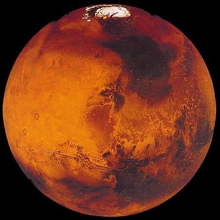 фото планета марс из космоса